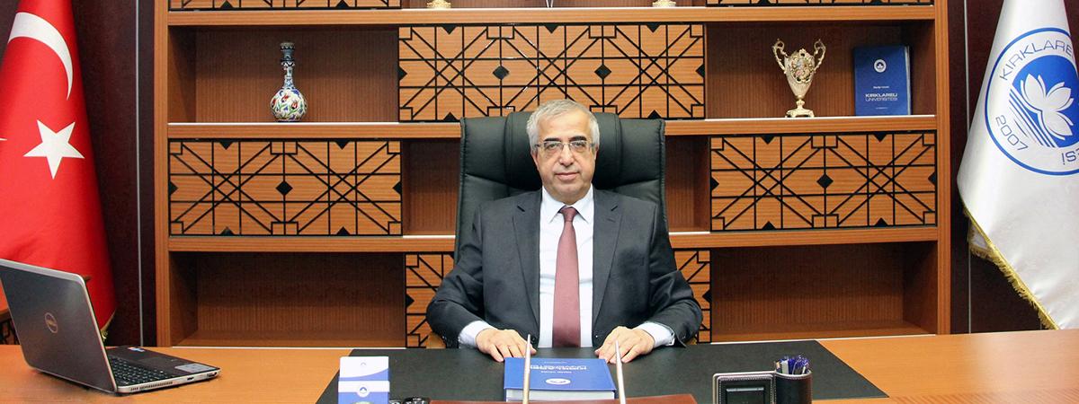 Kırklareli Üniversitesi Rektörü Prof. Dr. Sn. Bülent Şengörür ile Röportaj