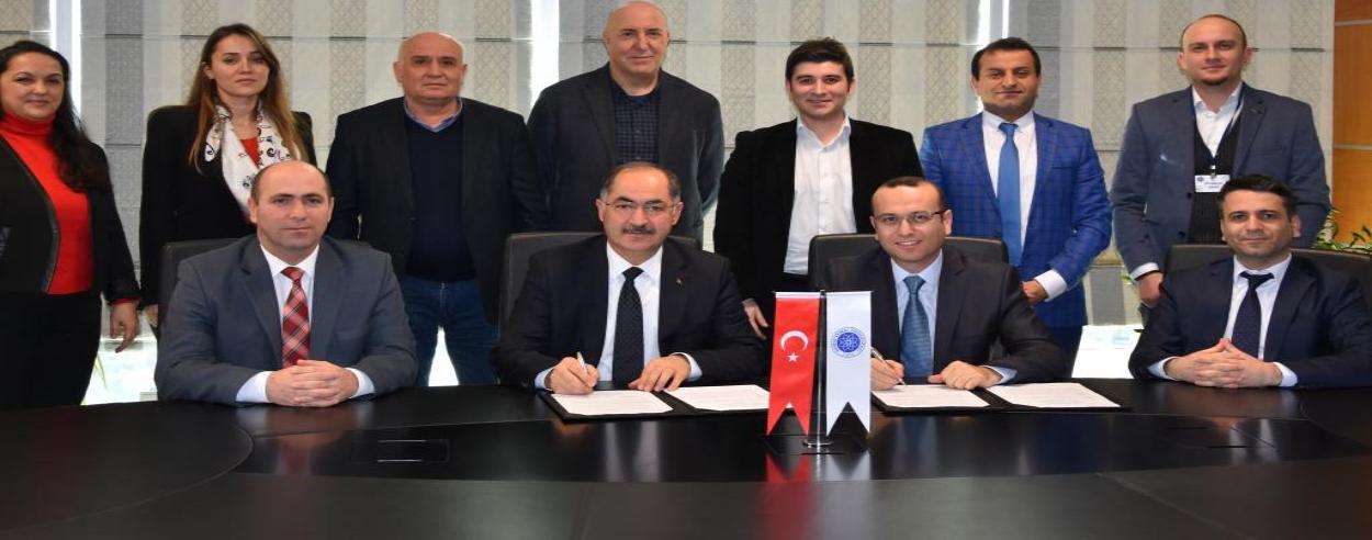 Namık Kemal Üniversitesi ile Ceva Lojistik Limited Şirketi Arasında İşbirliği Protokolü İmzalandı